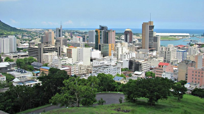 Port-Louis, la capitale de l'Ile Maurice. (Photo: Flickr/Ashok Prabhakaran/CC BY-SA 2.0)