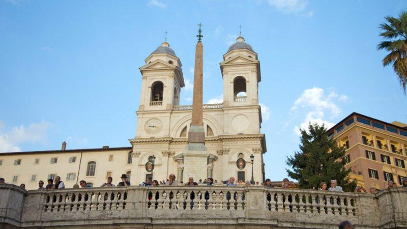 La Trinité-des-Monts à Rome (Photo:  www.expedia.fr)