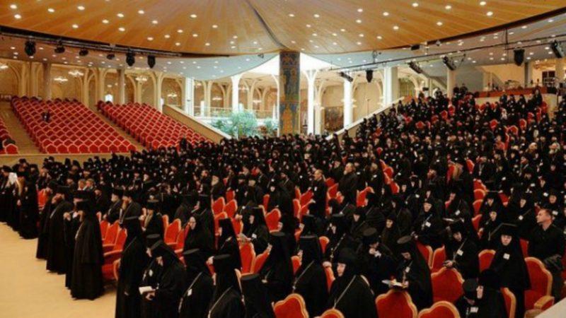 Moscou Réunion des supérieurs et supérieures des monastères de l'Église orthodoxe russe (Photo:  www.orthodoxie.com)