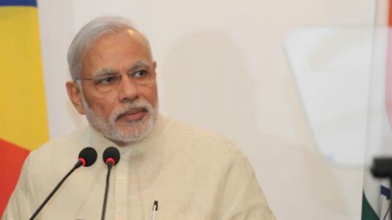 Le Premier ministre indien Narendra Modi (Photo:  Wikimedia Commons)