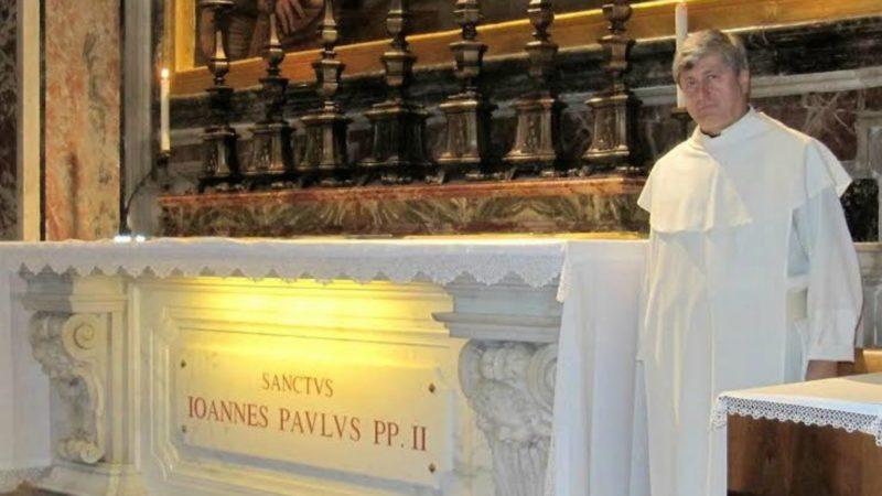 Le Père Krzysztof Wieliczko, administrateur de la Fondation Jean Paul II (Photo:  www.fjp2.com)