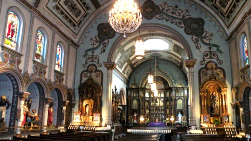 La chapelle Saint Antoine de Padoue, à Pittsburgh, abrite pas moins de 5'000 reliques (photo wikimedia commons)