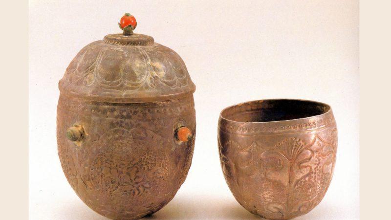 Urne coréenne antique en argent (photo: domaine public)